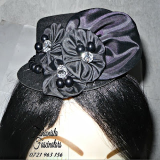 Buy classic black fascinator mini hat Nairobi Kenya