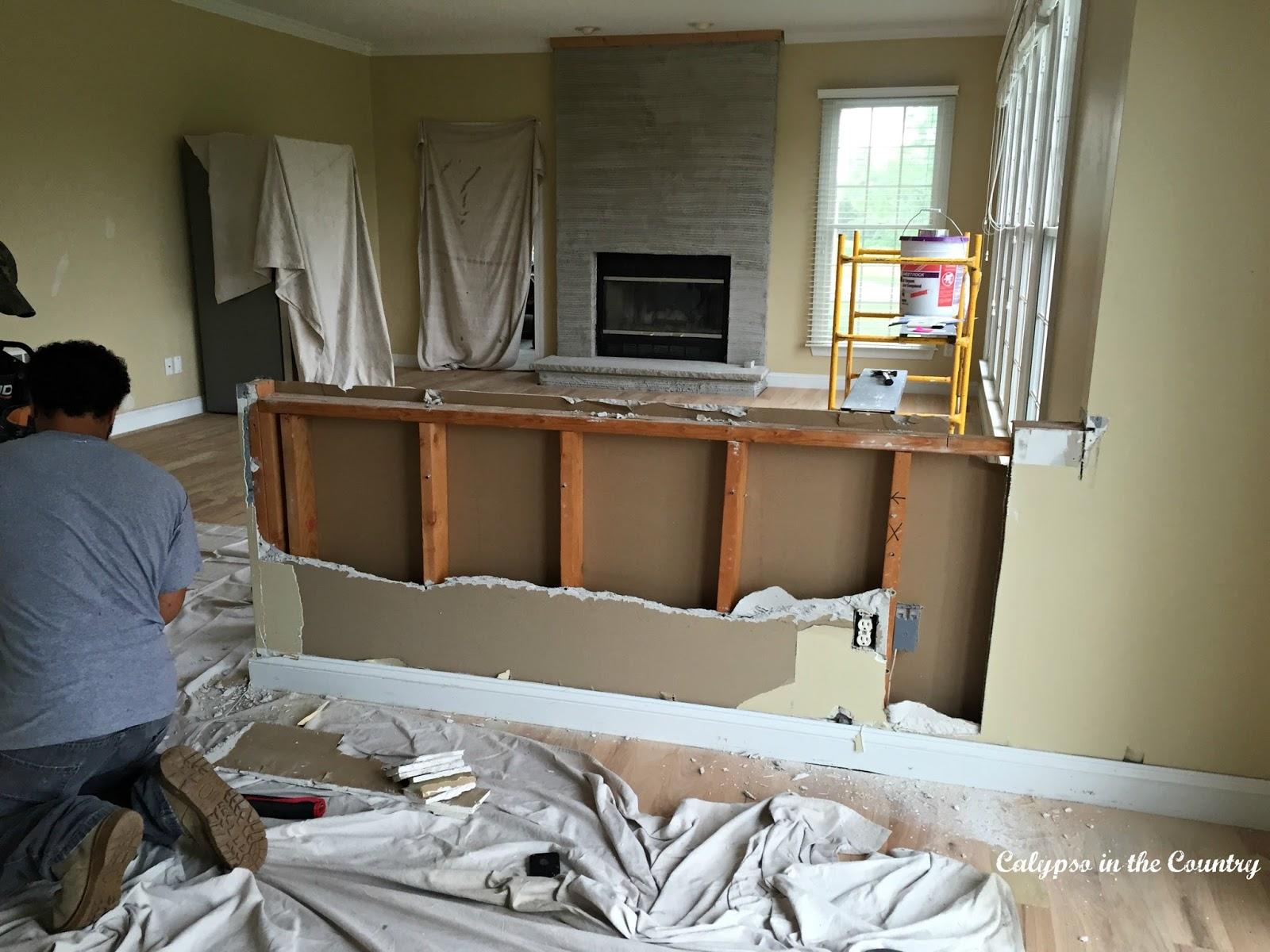 Half Wall Removal