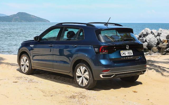 VW T-Cross - SUV mais vendido do Brasil
