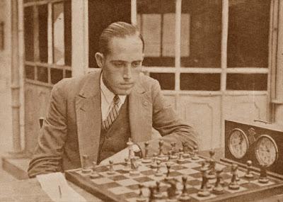 El ajedrecista Àngel Ribera Arnal en 1933