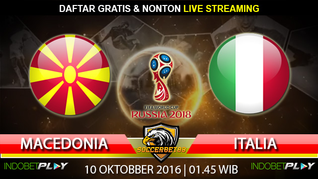 Prediksi Macedonia vs Italia 10 Oktober 2016 (Piala Dunia 2018)