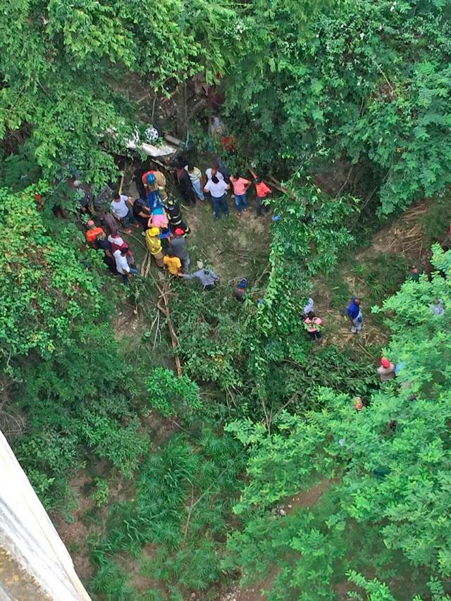 Fallecen tres personas en puente de Gurabo