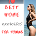 10 best home exercises!