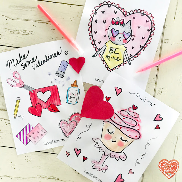 Valentine's Day Ideas To Make & Love | Linzer Lane Blog