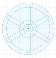 Back Part of Clock Wheel