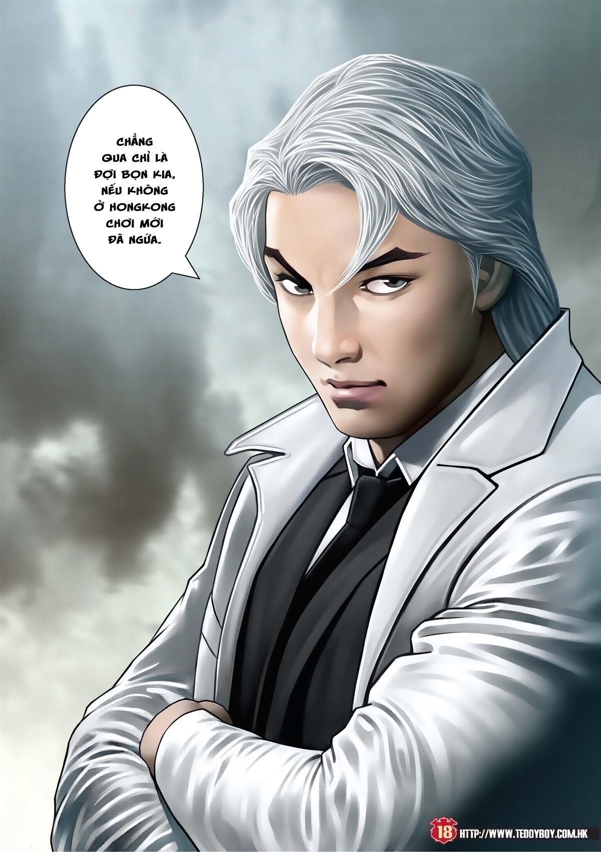 Người Trong Giang Hồ chapter 2011: hàn tân bỏ trốn trang 16