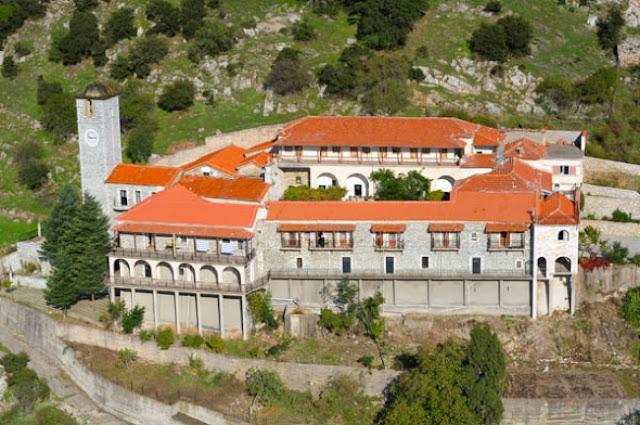 Ιερά Αγρυπνία στην Ιερά Μονή Παναγίας Γοργοεπηκόου Νεστάνης