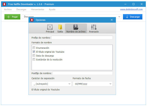 Free Netflix Downloader 1.06 Full Español