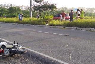 Motociclista morre após bater com a moto em árvore na Paraíba