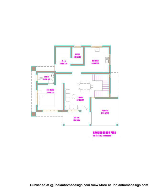 one bedroom house plans kerala house plan excellent two bedroom