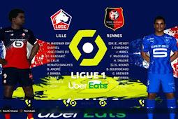 Ligue 1 Background Menu - PES 2017