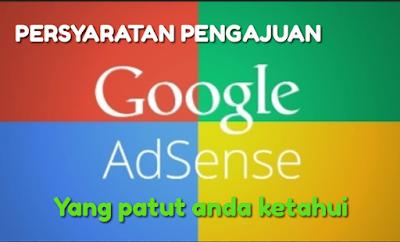 syarat utama agar diterima adsense