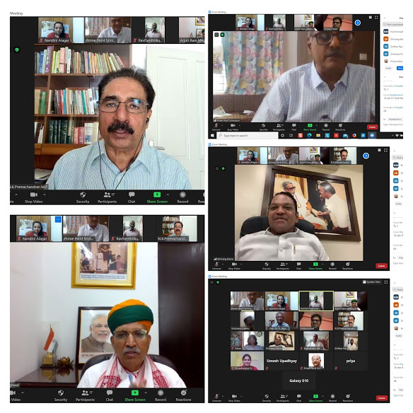 Sansad Ratna Awards 2020 - Jury Committee Meeting through Zoom