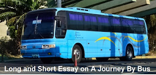 Essay on A Journey By Bus