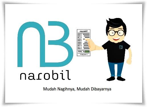 cara menagih tagihan online yang praktis bersama Narobil