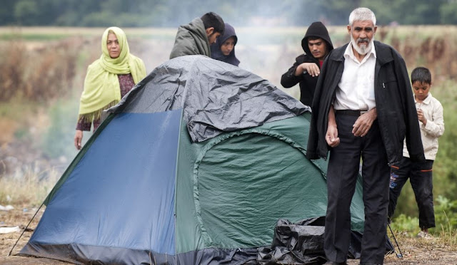 Macedonian police detained 45 migrants near the border with Serbia