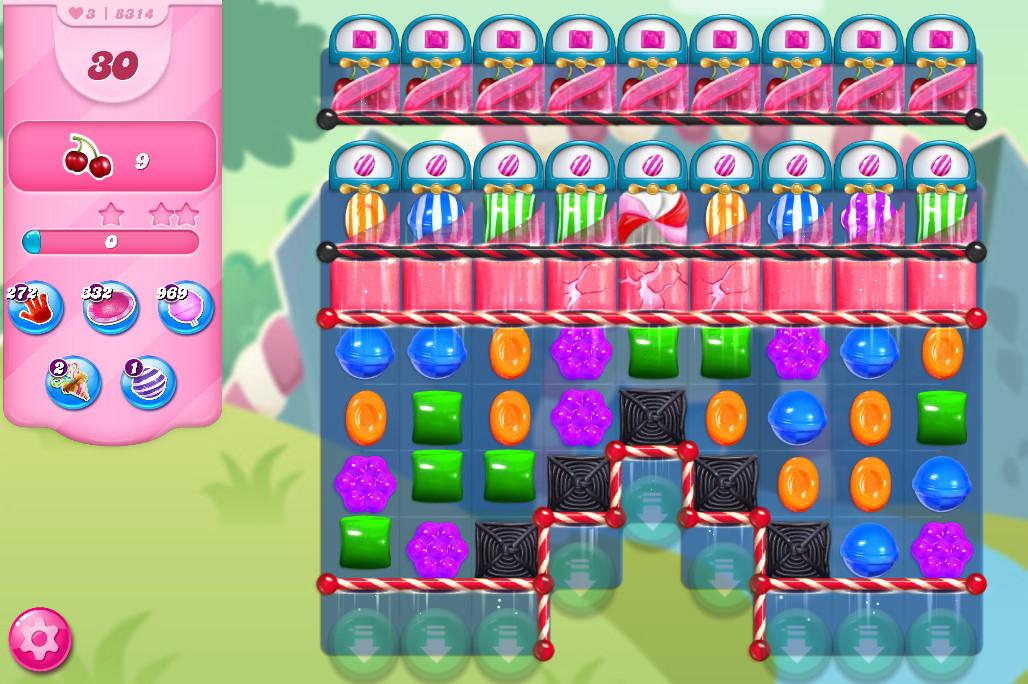 Candy Crush Saga level 8314