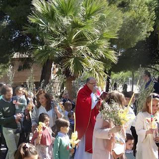 Domingo de Ramos. Misa para las familias