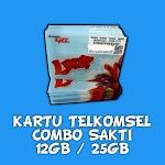 KARTU SIMPATI LOOP COMBO SAKTI 17GB - 25 GB