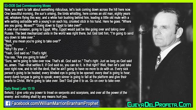If God said so you can do it - William Branham Quotes