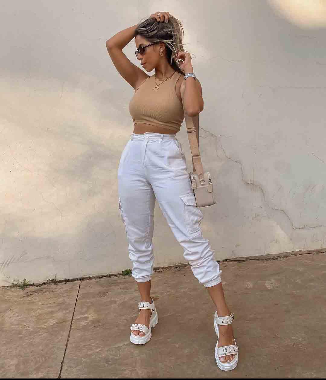Inspirações de looks básicos do insta com calça