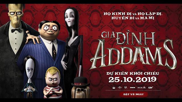 Gia Đình Addams - The Addams Family (2019)