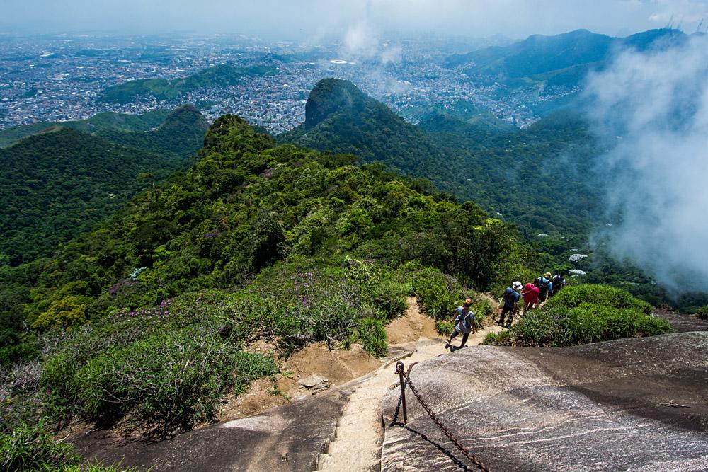 Национальный парк Бразилии Тижука, пешая тропа в Рио де Жанейро