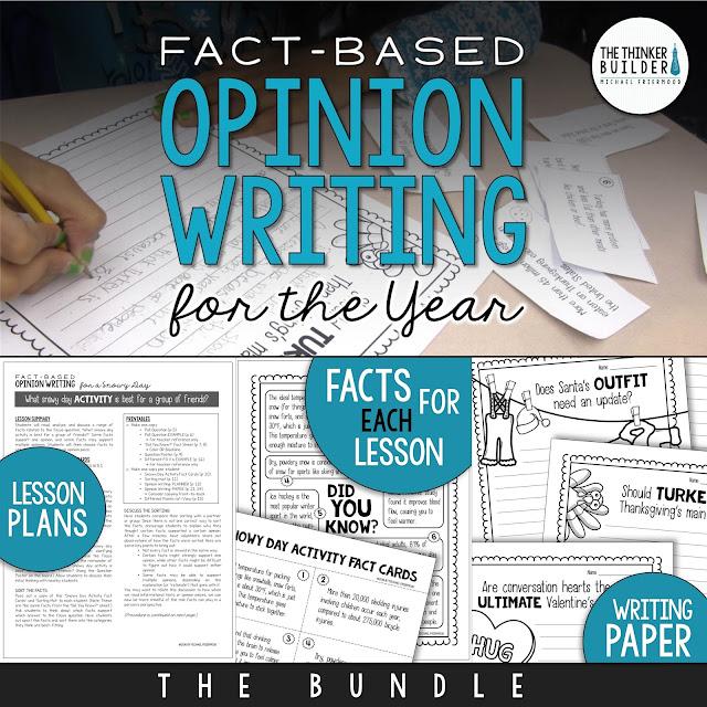 https://www.teacherspayteachers.com/Product/Fact-Based-Opinion-Writing-BUNDLE-2480913
