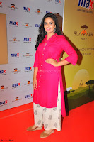 Sree Mukhi in Pink Kurti looks beautiful at Meet and Greet Session at Max Store (18).JPG