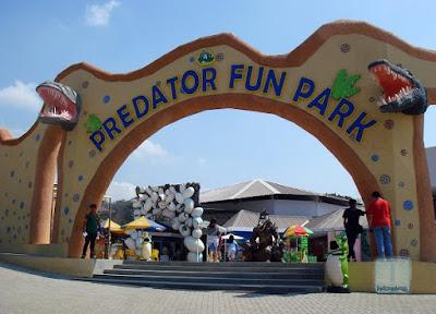 Predator fun park taman buaya batu