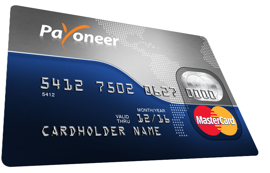 I deposit my online income with Payoneer