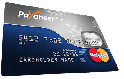 payoneer card example