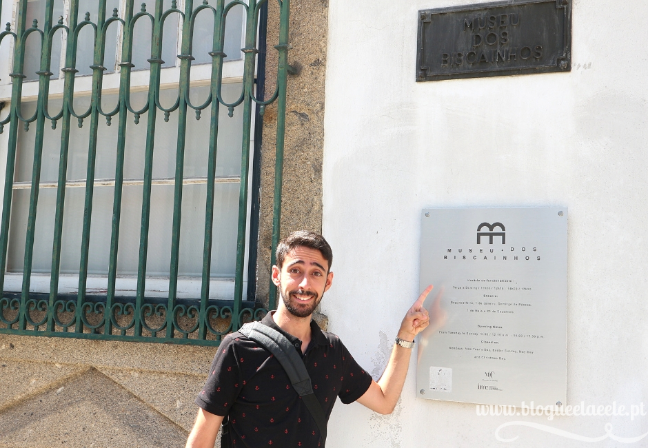 Braga + Museu dos Biscainhos + visitar + portugal + braga + norte+  opinião + blogue português de casal + blogue ela e ele + ele e ela + pedro e telma