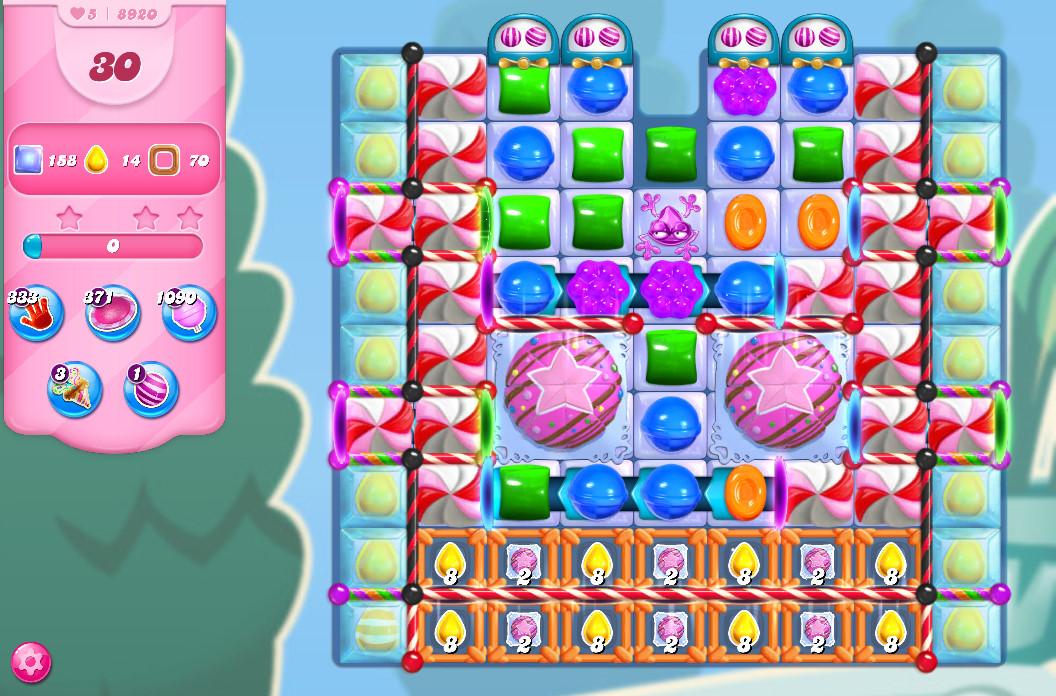 Candy Crush Saga level 8920