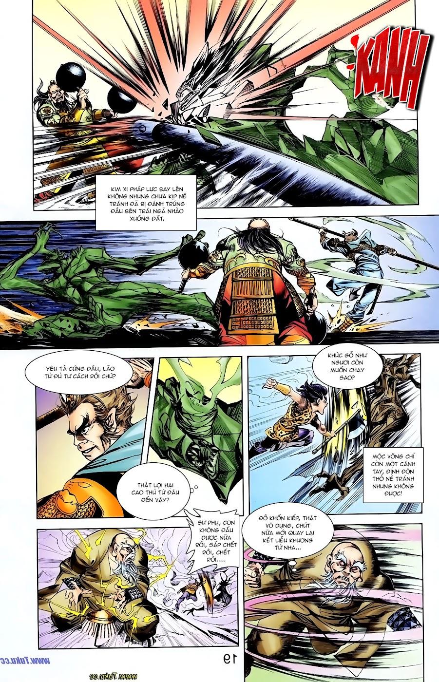 Cơ Phát Khai Chu Bản chapter 106 trang 28