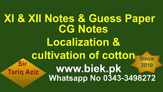 Localization Of Cotton Textile Industry