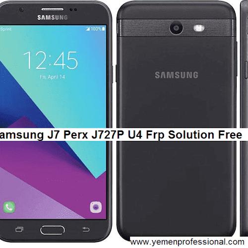 samsung j7 perx J727P U4 Frp Solution | Yemen-Pro