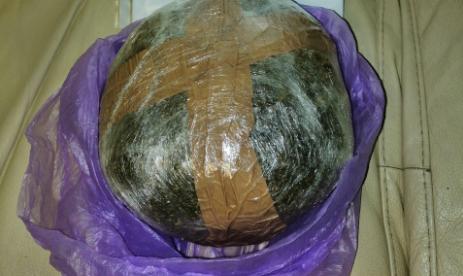 Συνελήφθη 22χρονος στην Χαλκιδική με μισό κιλό κάνναβη στο σακίδιο του
