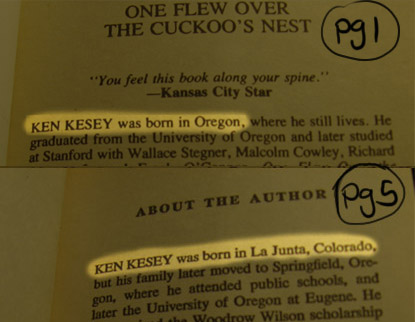 One Flew Over the Cuckoo's Nest Critical Essays