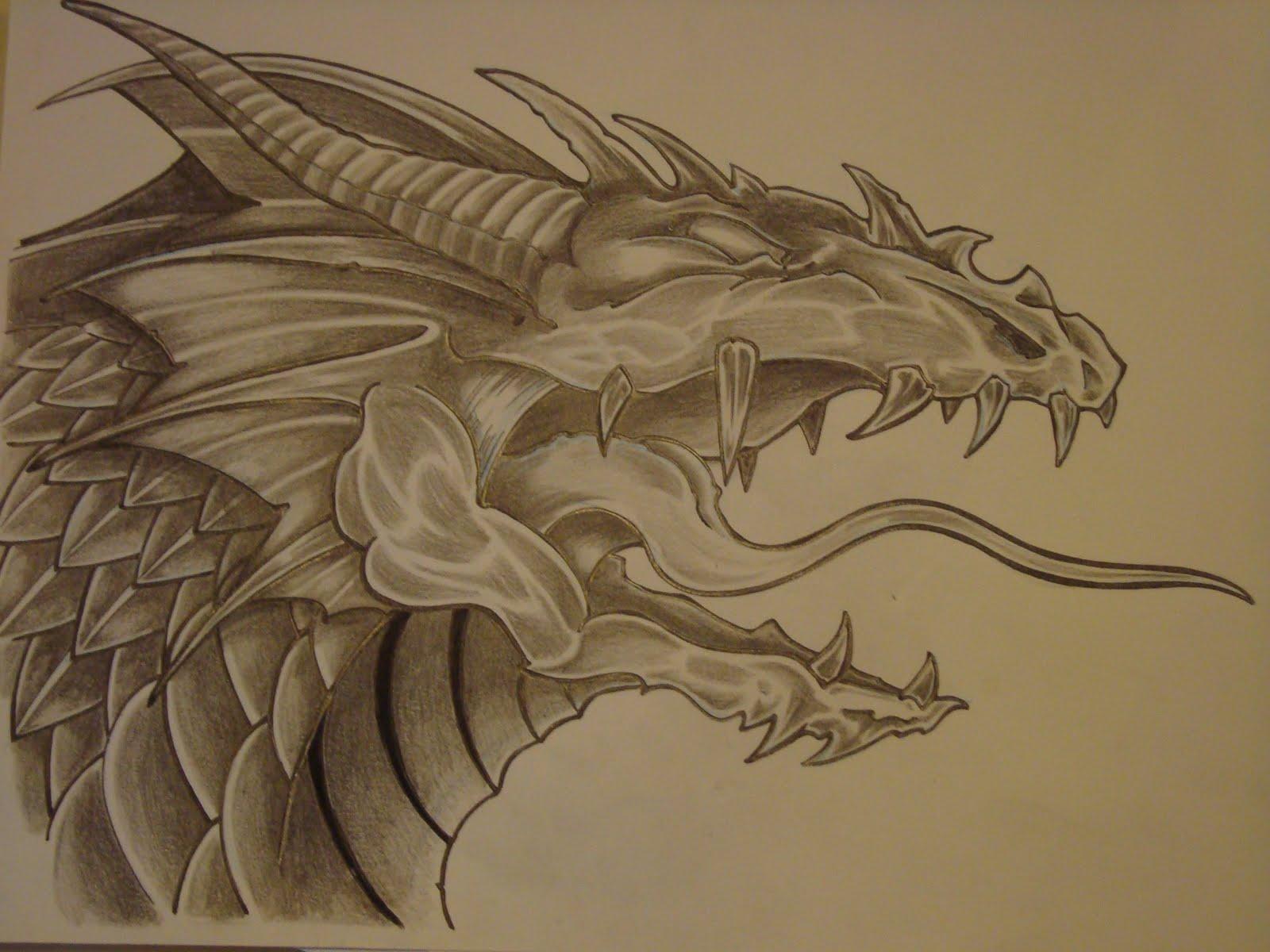 Cabezas De Dragones Para Tatuar mg tatuajes: 2011