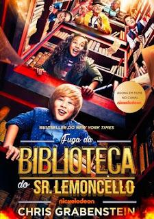 Fuga da Biblioteca do Sr. Lemoncello Dublado Online