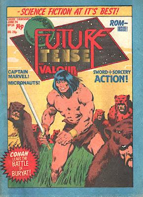 Future Tense and Valour #34, Conan