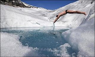 الاستحمام بالماء البارد