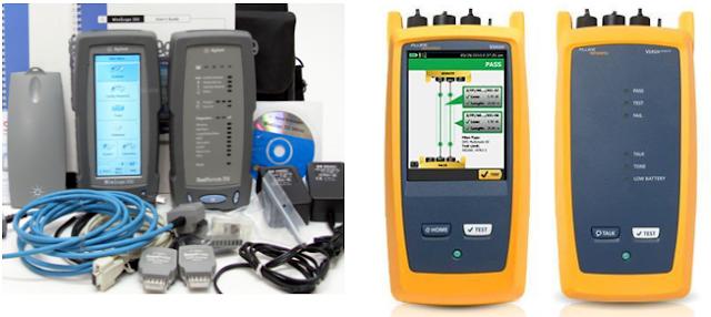 Jasa Fluke Test dan HP Wirescope