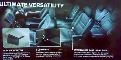 Gambar Desain Interior Nissan Serena Terbaru
