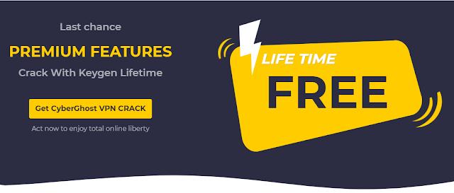 CyberGhost VPN Premium Free Crack + Activation Last Version 2019 Lifetime [Premium].
