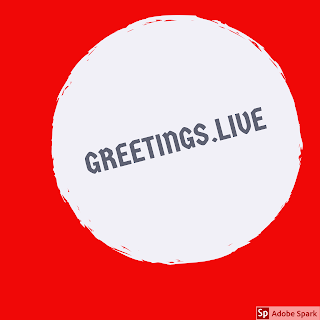 Greetings live image