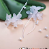 Sweet Asymmetrical Earrings Tutorial Uses Lucite Flowers | Polymer Clay Flowers Idea?