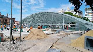 Las obras de la Linea C se inaugurarán en Marzo