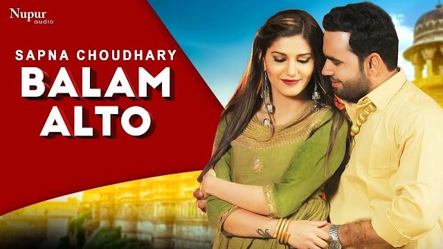 Balam Alto Haryanvi Song Lyrics – Vandana Jangir ft Sapna Choudhary